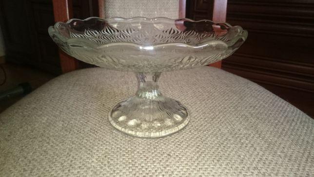 Owocarka szklana Vintage