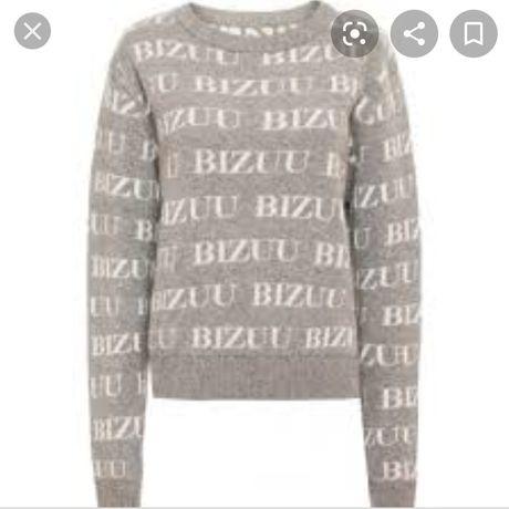 Sweterek bizuu szary