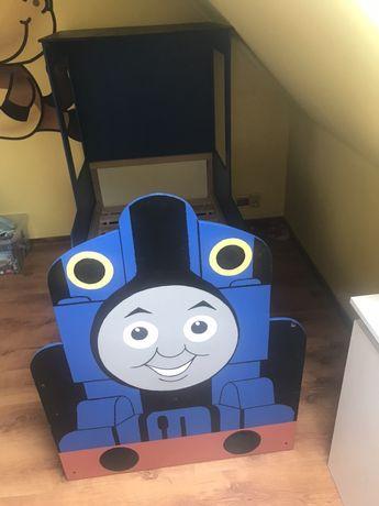 Łóżko chłopięce pociąg