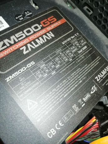 Zasilacz Zalman ZM500-GS