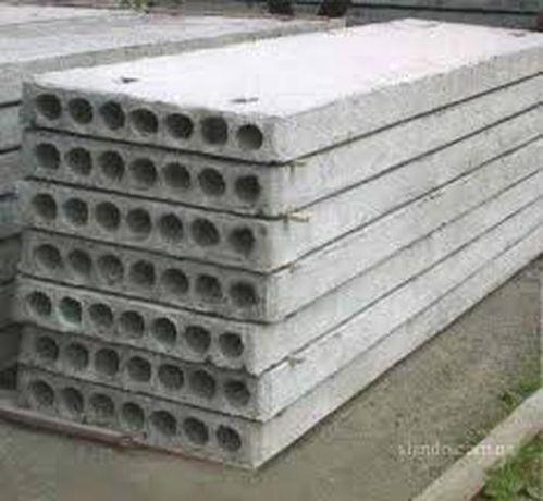 Плиты перекрытия пустотные 6/1.20 350грн кв