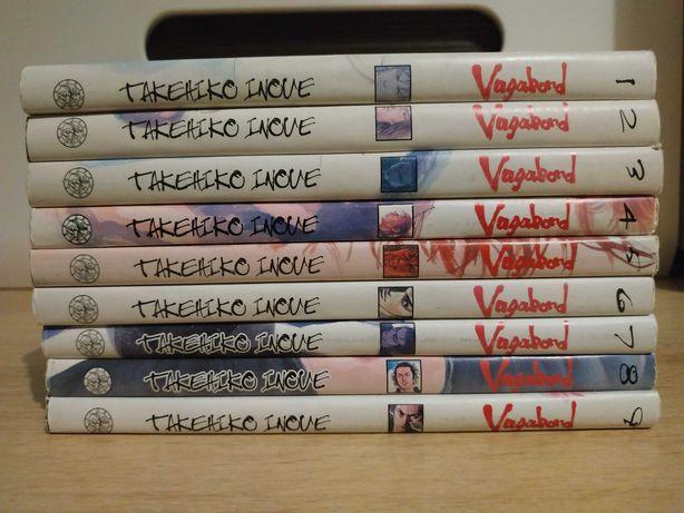 Manga Vagabond tomy 1-9 Komplet