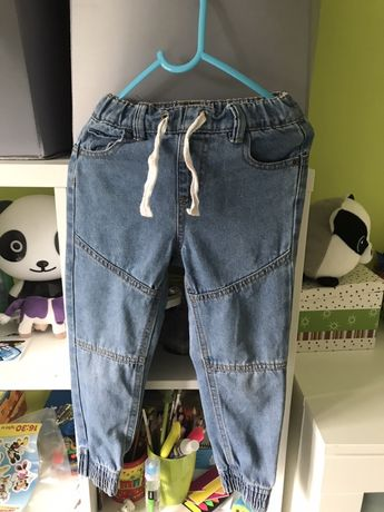 Spodnie joggersy