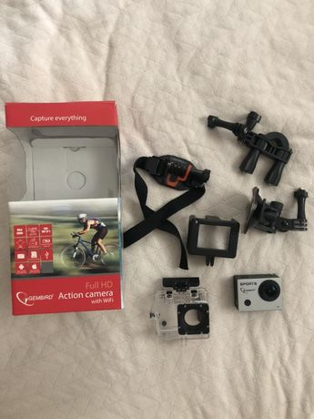 Gembird Full HD WiFi action camera with waterproof case ACAM-003 Wi-Fi