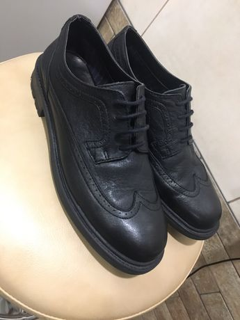 Кожаные туфли Zara Kids