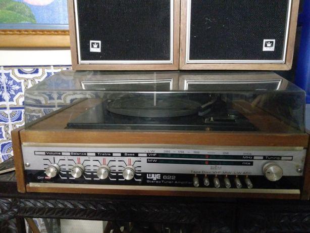 Gira Discos Amplificador WYE 622 Antigo