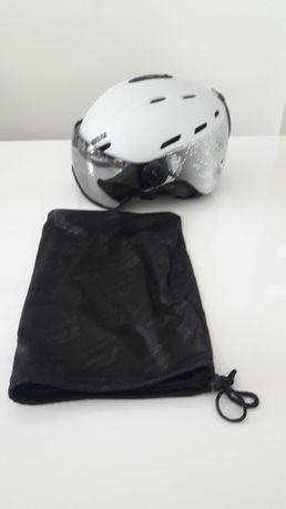 Kask snowboard na narty Relax Prevail Visior