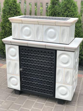 """Камин кафельный,печь """"Haas -Sonn """"( Германия )"""