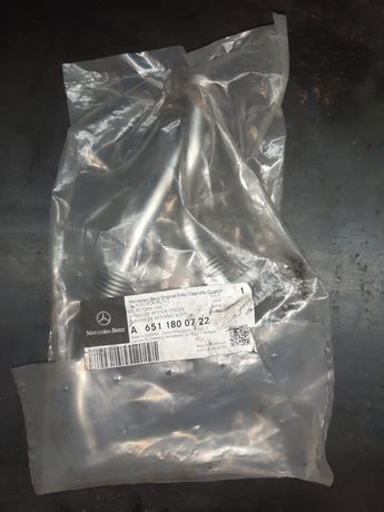 A6511800722 трубка отвода масла