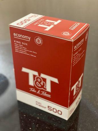 Т&Т 500 Гильзы для сигарет, гильзы для табака, сигаретные гильзы