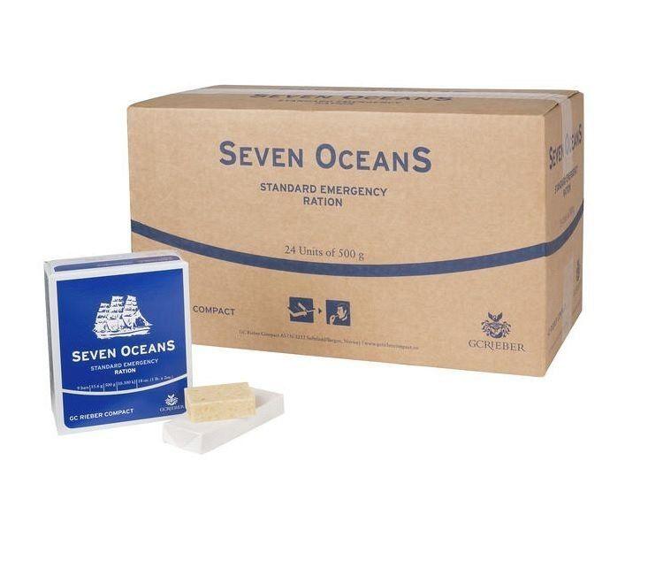 Racja żywnościowa ratunkowa SEVEN OCEANS 12x 500g Norwegia - ANMUR Rzeszów - image 1