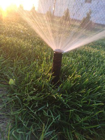 Nawadnianie ogrodów, sadów, automatyczne, zakładanie trawników