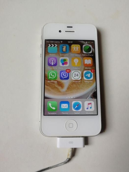 iPhone 4s, White, 16Gb Харьков - изображение 1