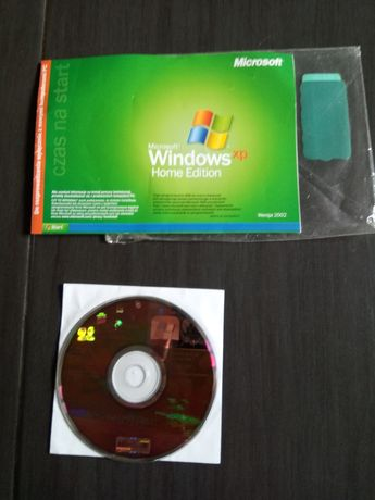 Windows XP Home Edition SP3 Polski CD instrukcja