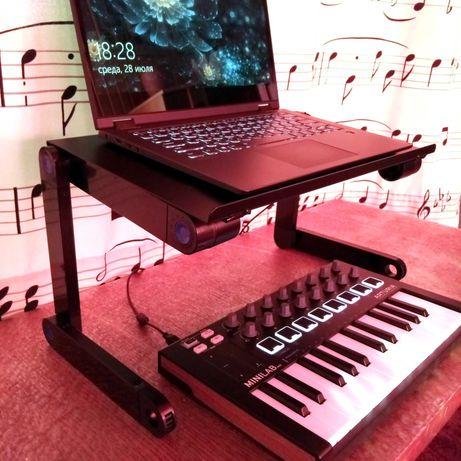 Складной столик подставка/трансформер для ноутбука Laptop Table T8