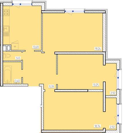 Сданный дом на Архитекторской. 46 Жемчужина! 3 комн. квартира!