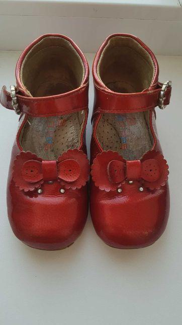 Ортопедические туфельки кожа
