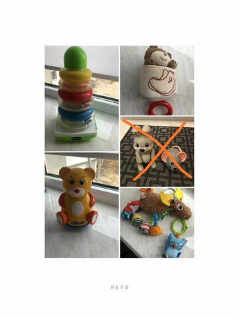 Все игрушки для малышей Chicco & TOLO