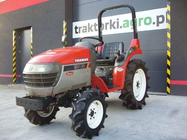Traktorek , Ciągnik ogrodniczy YANMAR AF-18 , 18 KM , Import z Japonii