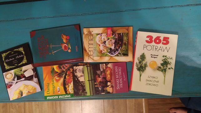 6 książek kucharskich