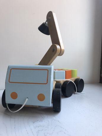 Zabawka drewniana Ikea dźwig