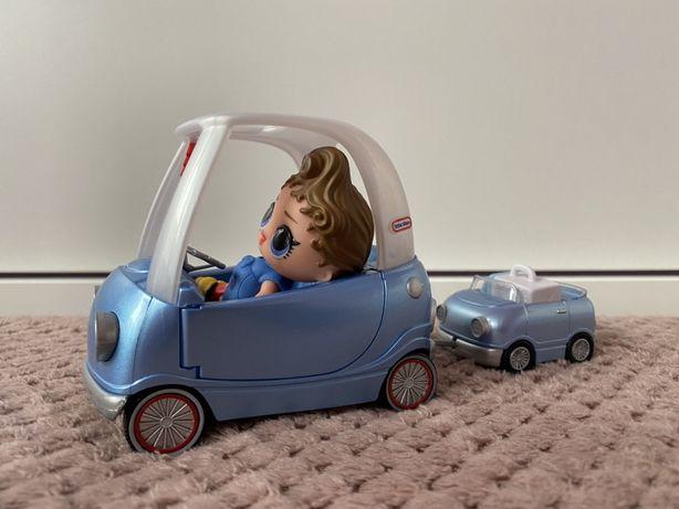 Samochodzik z przyczepką L.O.L. SURPRISE + lalka