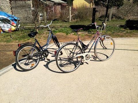 2 rowery damki (cena dotyczy obu rowerów)