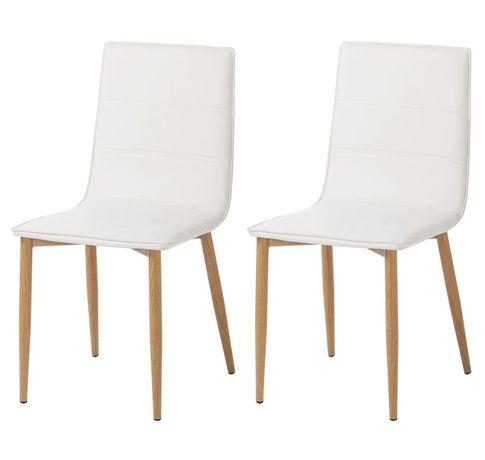 Krzesło tapicerowane do kuchni salonu Lesja 2 szt. M005