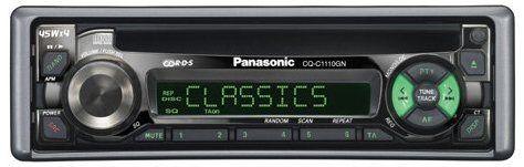Panasonik CQ RD143N kasetowe z epoki young timer