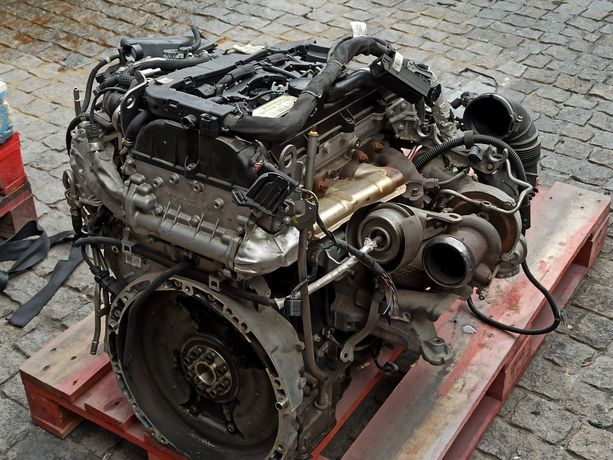Motor Mercedes W204 Avariado Peças