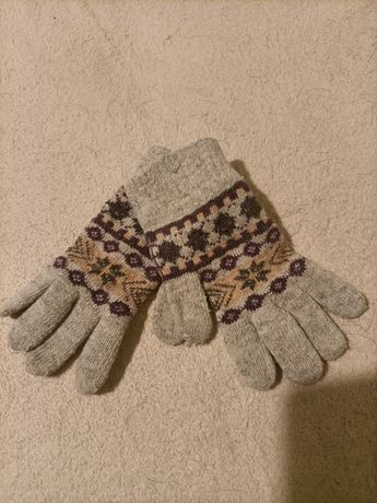 Rękawiczki+komin