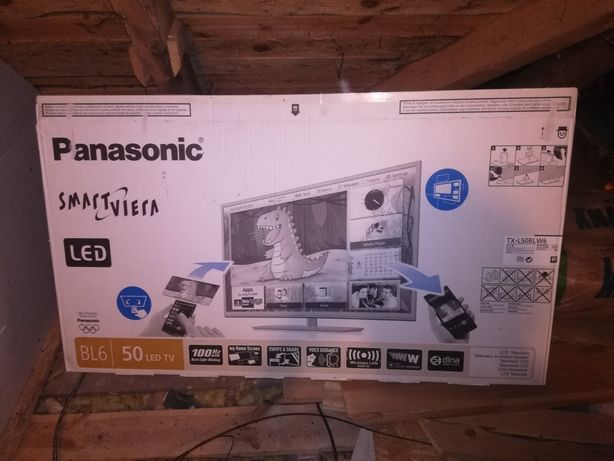 Telewizor led Panasonic 50 cali TX L50BL W6