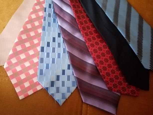 zestaw krawat 7szt.