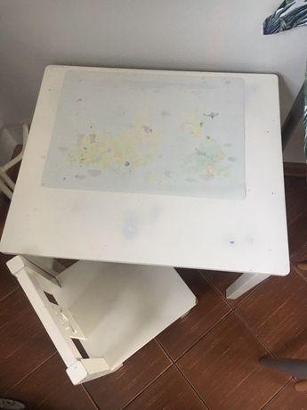 Stoliczek i krzeselko ikea