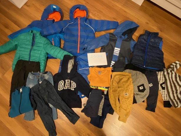 Ubrania chłopięce, pakiet na 2-3 lata, używane