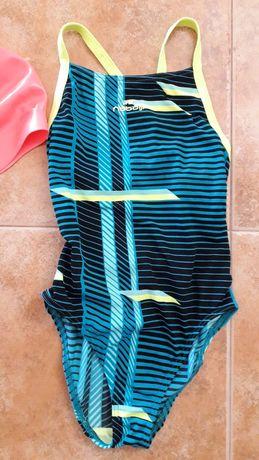 Fato de banho natação e toca - menina 10/11 anos - Nabaiji