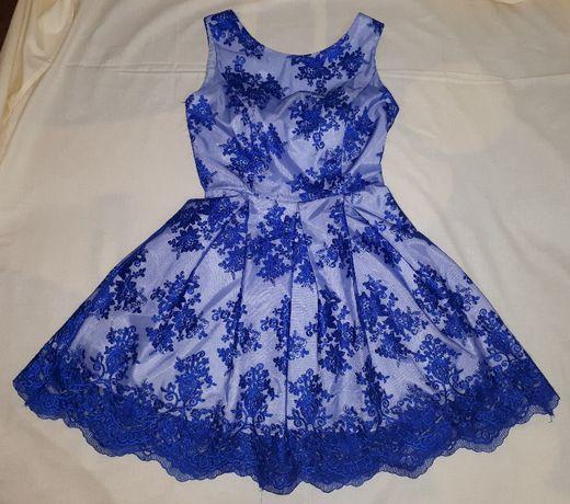Sukienka balowa, na wesele, rozmiar S