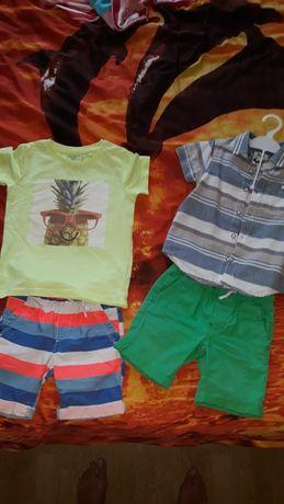 Шортики, шорты, футболка, рубашка