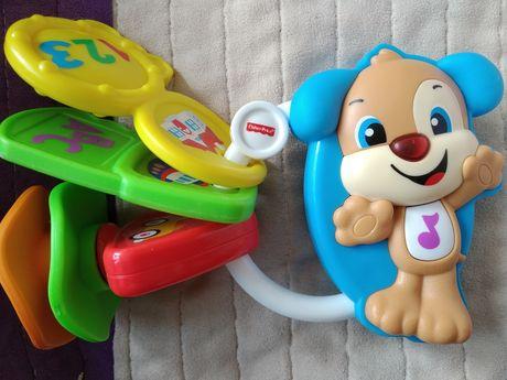 Fisher-Price, Kluczyki Szczeniaczka Uczniaczka, zabawka niemowlęca