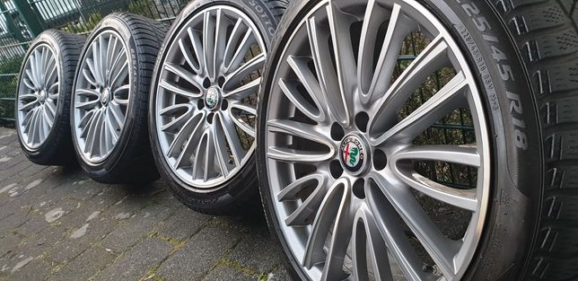 Alfa Romeo Guilia  225-45-R18  zimowe 5x110 65.1 Opel rdks