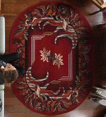 Dywan, dywany owalne 200x300 owal - różne wzory, tradycyjne wzory
