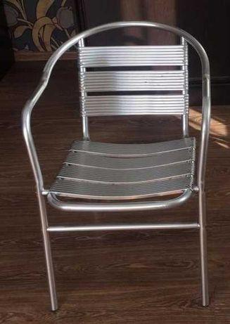 Стул алюминиевый для открытых кафе , закусочных - ALC-3040