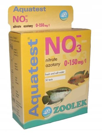 Zoolek test NO3 azotany
