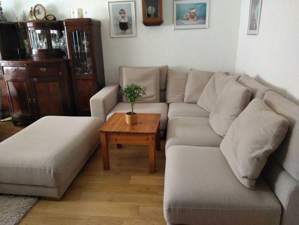 Sofa-Narożnik +Pufa firmy OLTA
