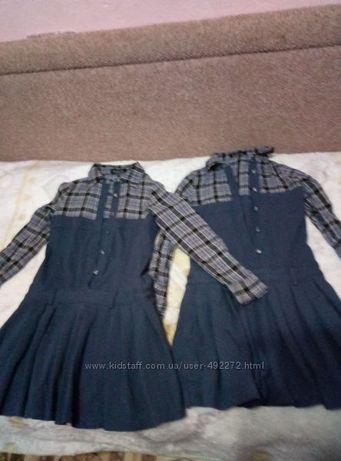Платья для двойни, можно в школу
