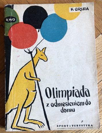 """Olimpiada z odniesieniem do domu"" - Konrad Gruda"