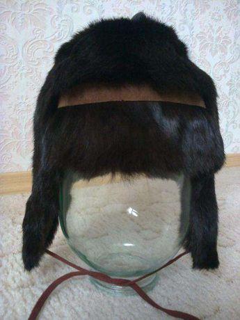 Продам тёплую детскую шапку из меха кролика на малыша 5-10 лет