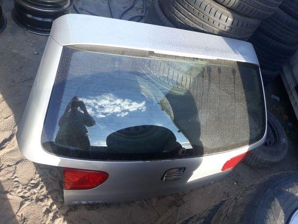 Klapa tył Seat Ibiza II FL srebrna