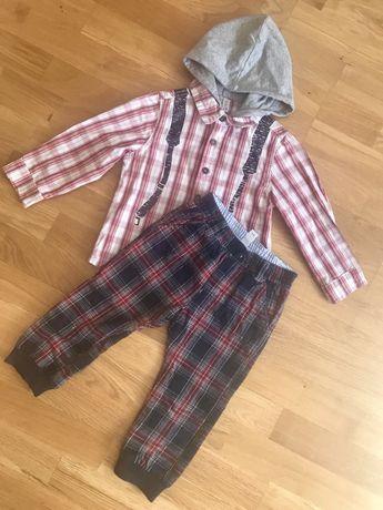 Рубашка брюки idexe термо штани на подкладке