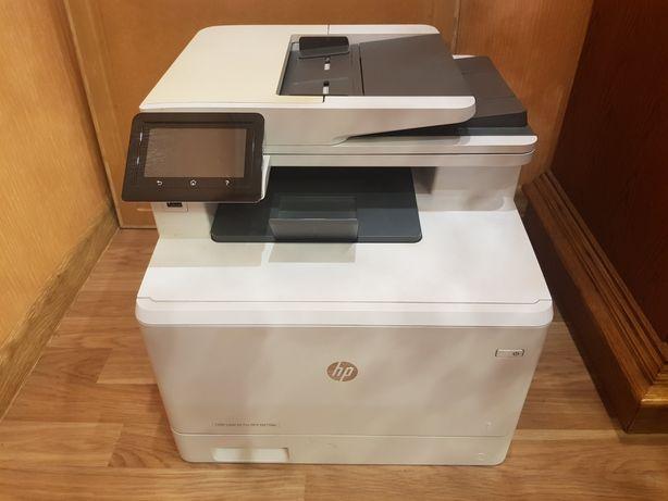 drukarka HP color  laser Jet pro MFP M477fdn z trzema nowymi tunerami